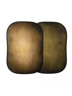 FONDO PLEGABLE VINTAGE TABACO OLIVA 1,5m x 2,1m LL LB5705