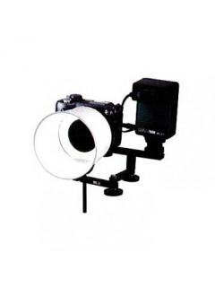 LUZ ANULAR MACRO C-LITE a pilas para cámara Digital