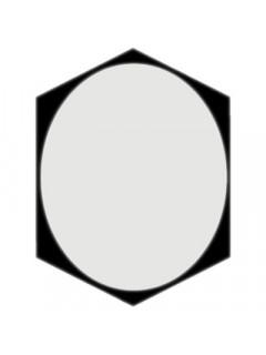 TELA DIFUSORA OVAL Wafer Hex 100