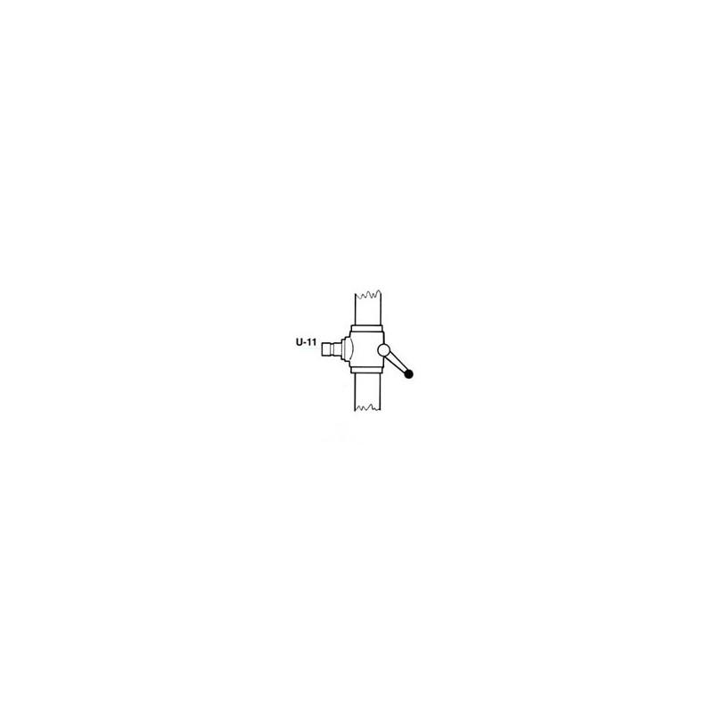 TUBO PROLONGACION cremallera 26,5cm. U-11