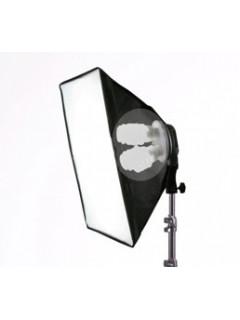 FOCO FLUORESPIRAL 4X32W + Caja de luz 45X45cm