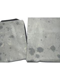 TELA LAVABLE GRIS CLARO - MOTAS 1.80x2m