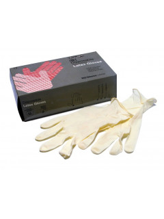 100 PARES DE GUANTES de latex