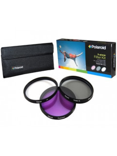 KIT 3 FILTRO UV PL FLD 58MM