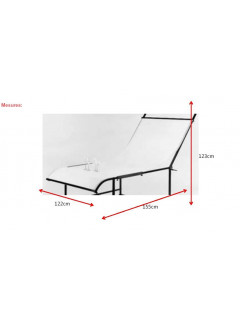 PLANCHA PERSPEX mate 122x245x0,3cm