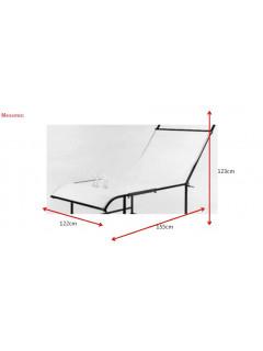 MESA BODEGON PROFI sin perspex a123xf152xh81cm