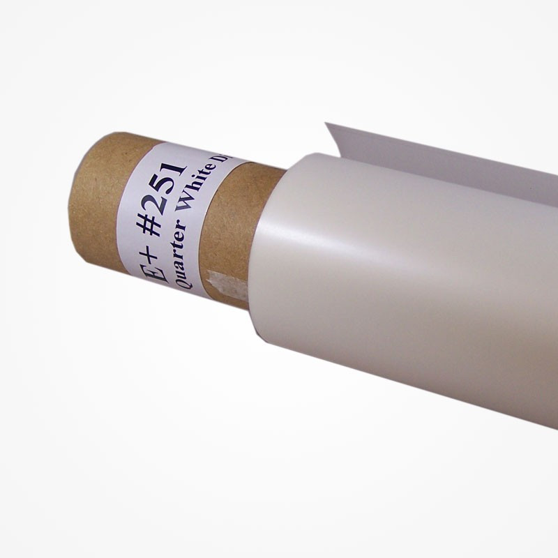 Filtro Rosco E'colour 1/4 White diffusion hoja 53x61cm