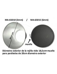 REJILLA NIDO 6MM FOMEX 18cm