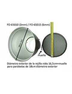 REJILLA NIDO 3MM FOMEX 18cm