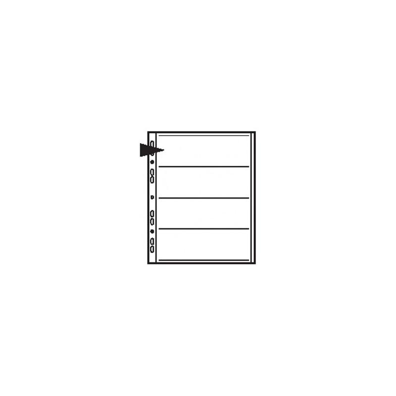 HOJAS contacto de acetato 4 tiras 120 6x6 a 6x9