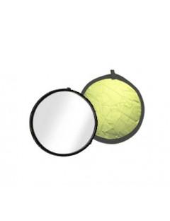 REFLECTOR DISCOLITE ORO BLANCO 31cm Ø
