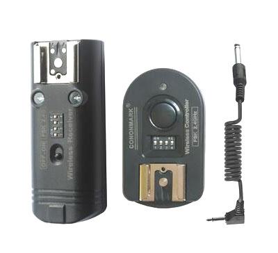 Sistema de disparo para flash de estudio fotografico